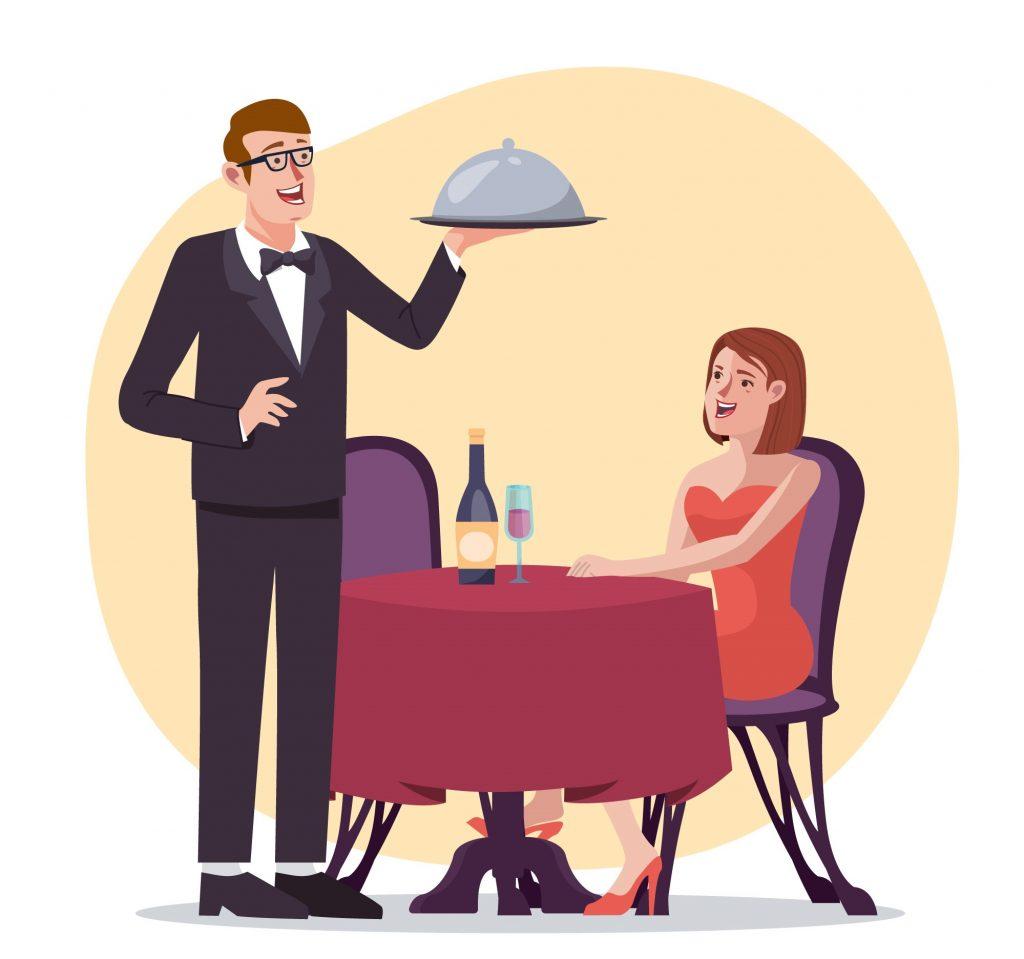 опытом правила этикета для официанта кто-то сталкивался такой