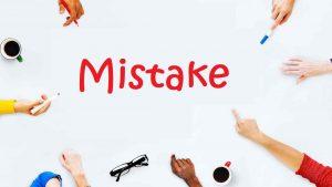 ошибки изучения языка